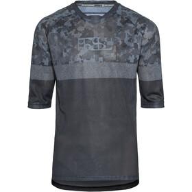 IXS Carve Air Fietsshirt korte mouwen Heren zwart